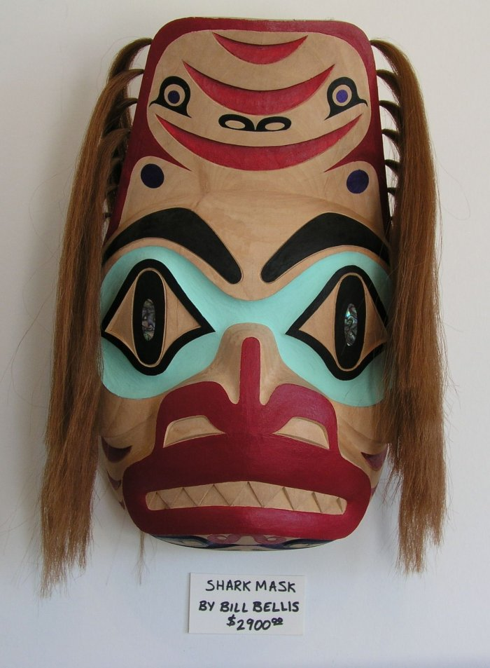 Longhouse Gift Shop Local Haida Masks Haida Gwaii